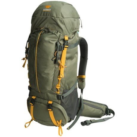 Mountainsmith Lookout 80L Backpack - Internal Frame in Pinon Green