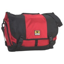 Mountainsmith Messenger Bag - Large, Recycled Materials in Aztec Red/Black - Closeouts