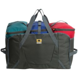 Mountainsmith Modular Hauler 3 in Charcoal/Teal/Red/Blue