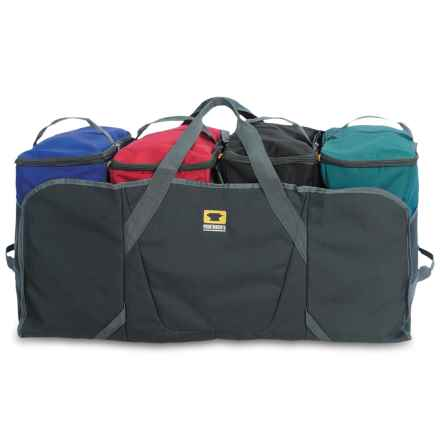 Mountainsmith Modular Hauler 4 in Charcoal/Teal/Red/Blue/Black - 2nds