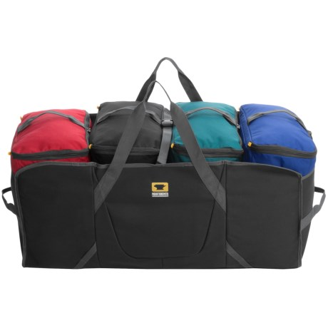 Mountainsmith Modular Hauler 4 in Charcoal/Teal/Red/Blue