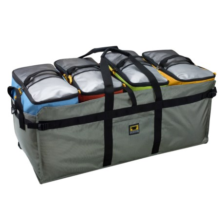 Mountainsmith Modular Hauler 4 in Charcoal W/Lime/Cinnamon/Yellow/Marine