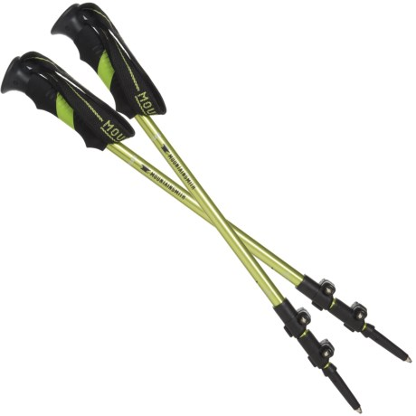 Mountainsmith Roamer 3-Section Adjustable Trekking Pole in Macaw Green