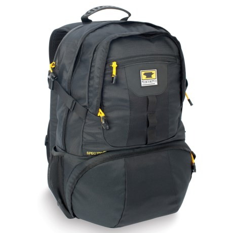 Mountainsmith Spectrum Camera-Laptop Backpack - Recycled Materials in Black