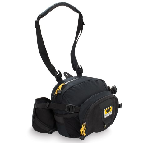 Mountainsmith Swift FX Waistpack Camera Bag - Recycled Materials in Black