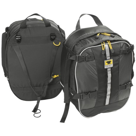Mountainsmith Switchback Bike Panniers - Pair in Black/Charcoal