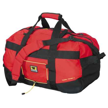 Mountainsmith Travel Trunk Duffel Bag - Large in Red / Black - Closeouts
