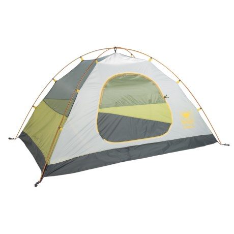 Mountainsmith Upland Tent - 2-Person, 3-Season in Citron Green