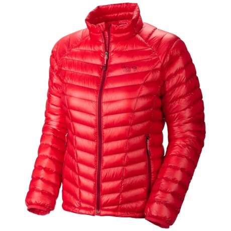 Mountian Hardwear Ghost Whisperer Down Jacket - 850 Fill Power (For Women) in Red Hibiscus