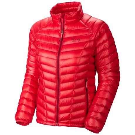Mountian Hardwear Ghost Whisperer Down Jacket - 850 Fill Power (For Women) in Red Hibiscus