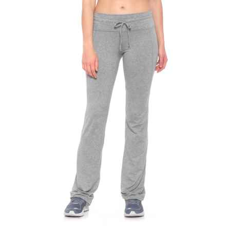 MOVEMENT Fashion-Seamed Pants (For Women) in Heather Grey - Closeouts