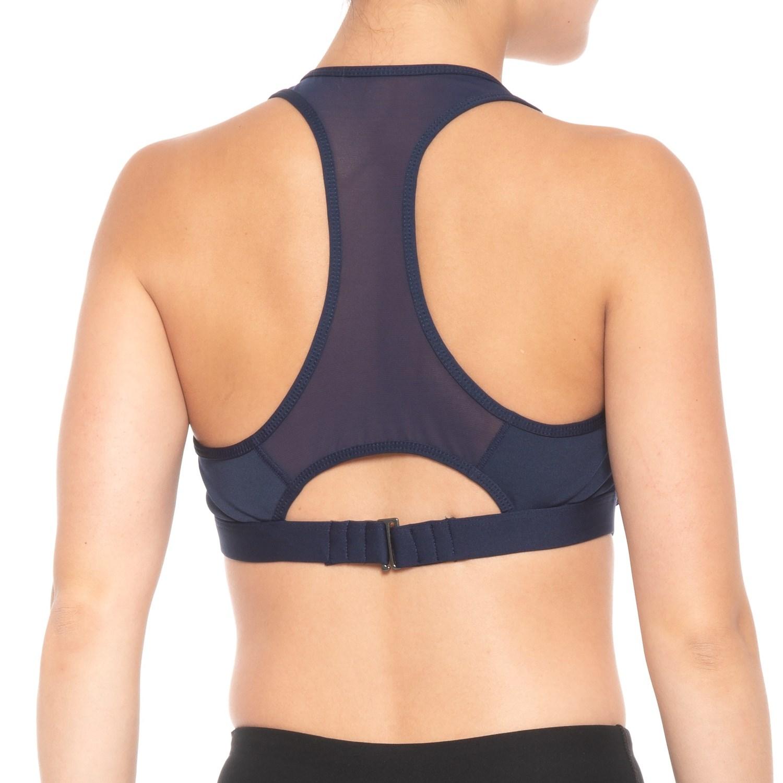 60ca2461e1 MOVEMENT Mesh Insert Sports Bra (For Women) - Save 50%