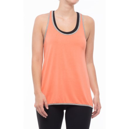 98929a7c07f87f MOVEMENT Soft Jersey Tank Top (For Women) in Orange - Closeouts