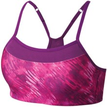 Moving Comfort Alexis Sports Bra - A/B Cups, Print (For Women) in Velvet Mystique - Closeouts