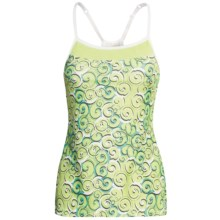 Moving Comfort Alexis Support Tank Top - High Impact, A/B Cups (For Women) in Margarita Curly Girl - Closeouts