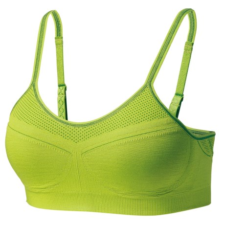 Moving Comfort Aurora Sports Bra - A/B Cups (For Women) in Citrus