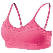 Moving Comfort Aurora Sports Bra - A/B Cups (For Women) in Flamingo - Closeouts