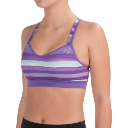ca985a249f8 Moving Comfort Brooks UpRise Crossback Sports Bra - Medium Impact (For  Women) in Dusk