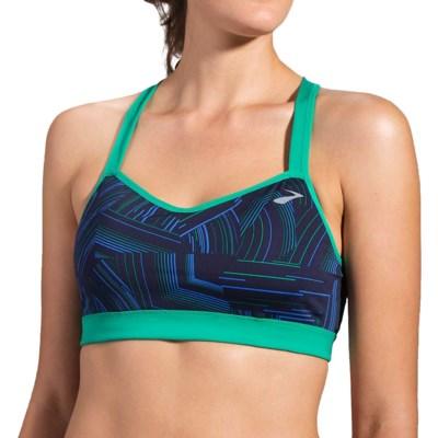 714116f5550ea Moving Comfort Brooks UpRise Crossback Sports Bra (For Women) - Save 64%
