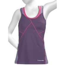 Moving Comfort Distance Support Tank Top - C/D (For Women) in Grape Soda - Closeouts