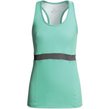 Moving Comfort Endurance Support Tank Top (For Women) in Sea Glass - Closeouts