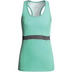Moving Comfort Endurance Support Tank Top (For Women) in Seagrass