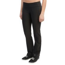 Moving Comfort Fearless Pants - Mid Rise (For Women) in Black - Closeouts