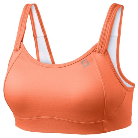 Moving Comfort Fiona Sports Bra (For Women) in Flamingo
