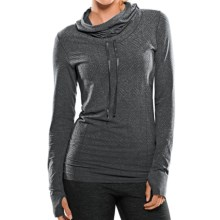 Moving Comfort Flex Hoodie Sweatshirt (For Women) in Ebony Heather - Closeouts