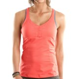 Moving Comfort Flow Crossback Tank Top - Built-In Bra (For Women)