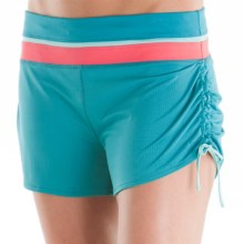 Moving Comfort Flow Mesh Shorts (For Women) in Ocean - Closeouts
