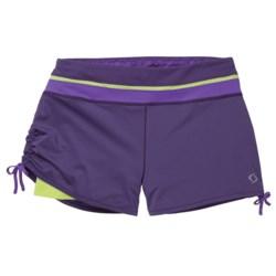 Moving Comfort Flow Mesh Shorts (For Women) in Ocean