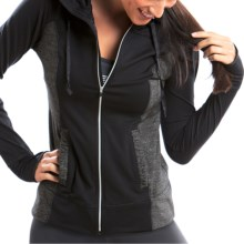 Moving Comfort Foxie Shirt - Full Zip, Long Sleeve (For Women) in Black - Closeouts
