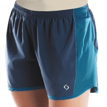 Moving Comfort Frontrunner Shorts - Built-In Brief (For Women) in Sapphire - Closeouts