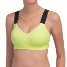 Moving Comfort Hot Shot Sports Bra - Medium Impact (For Women) in Celery - Closeouts