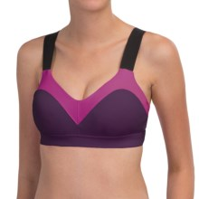 Moving Comfort Hot Shot Sports Bra - Medium Impact (For Women) in Iris - Closeouts