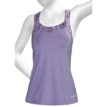Moving Comfort InMotion Support Tank Top - Medium Impact, C/D Cups (For Women) in Purple Haze - Closeouts