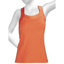 Moving Comfort InMotion Support Tank Top - Medium Impact, C/D Cups (For Women) in Sunset - Closeouts
