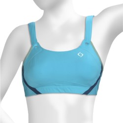 Moving Comfort Jubralee Sports Bra - High Impact (For Women) in White