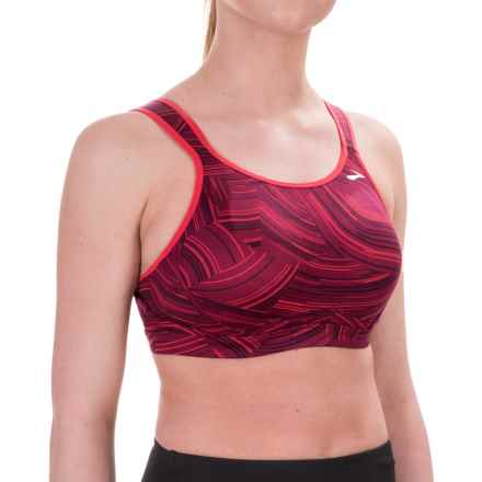 Moving Comfort Maia Sports Bra (For Women) in Sangria Cosmo/Poppy - Closeouts