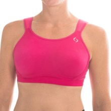 Moving Comfort Maia Sports Bra - High Impact, Underwire (For Women) in Powerpink - Closeouts