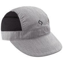 Moving Comfort MC Pocket Hat (For Women) in Charcoal Heather - Closeouts