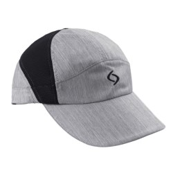 Moving Comfort MC Run Cap (For Women) in Charcoal Heather