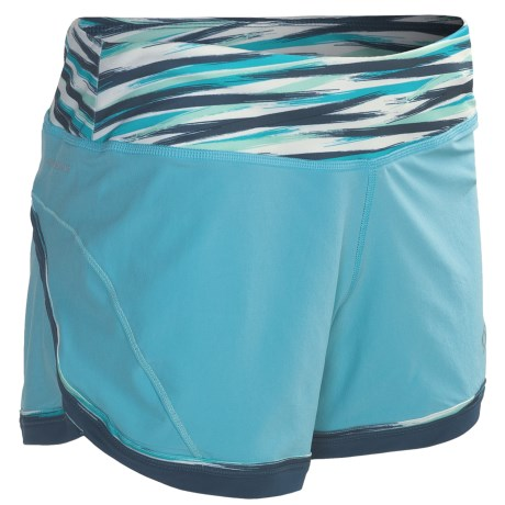Moving Comfort Momentum Running Short (For Women) in Fiesta Lucky Stripe