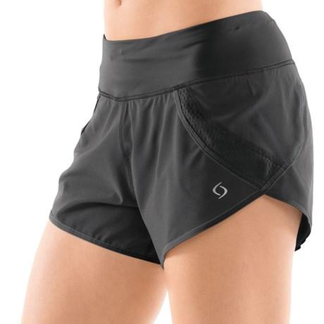 Moving Comfort Momentum Running Short (For Women) in Black