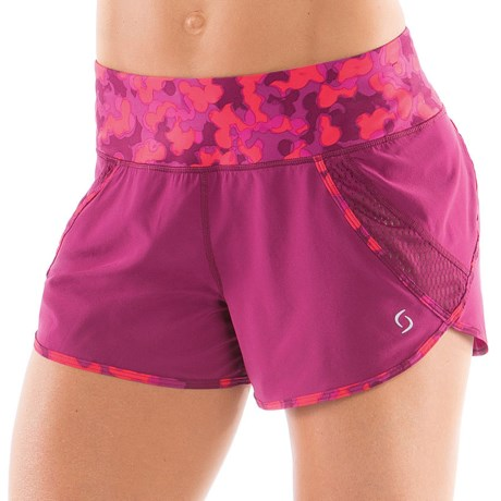 Moving Comfort Momentum Running Short (For Women) in Crimson