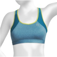 Moving Comfort Phoebe Sports Bra - CoolMax® (For Women) in Blizzard Heather - Closeouts