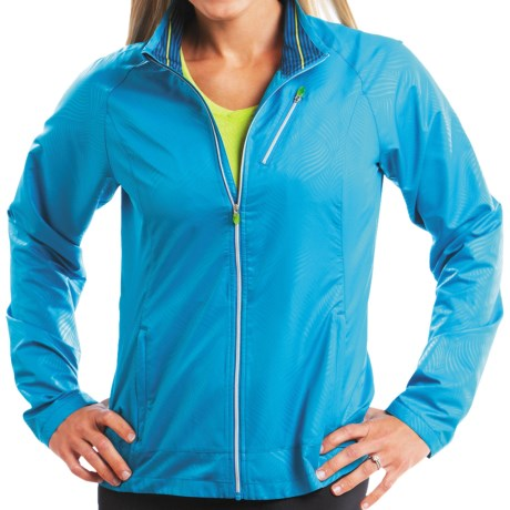 Moving Comfort Sprint Jacket (For Women) in Blizzard