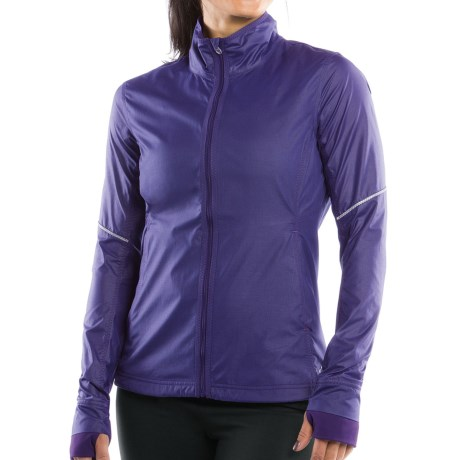 Moving Comfort Sprint Jacket (For Women) in Gem Crosshatch