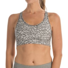 Moving Comfort Switch It Up Racer Sports Bra (For Women) in Sterling Woven - Closeouts